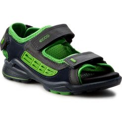 Sandały ECCO - Biom Sandal 70362250173 Marine/Marine/Meadow. Niebieskie sandały męskie skórzane marki ecco. Za 319,90 zł.