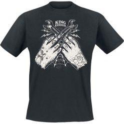 King Kerosin Hard Ride T-Shirt czarny. Czarne t-shirty męskie King Kerosin, xl. Za 99,90 zł.