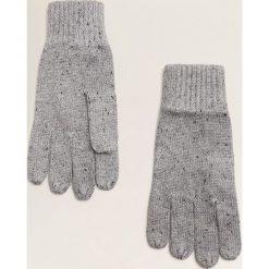 Mango Man - Rękawiczki Jaspe. Szare rękawiczki męskie Mango Man, z dzianiny. Za 69,90 zł.