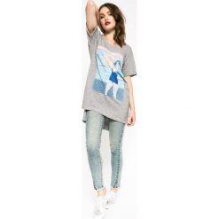 Medicine - Jeansy The bigger splash. Niebieskie jeansy damskie rurki marki MEDICINE. W wyprzedaży za 59,90 zł.
