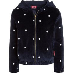 Claesen's GIRLS HOODED JACKET Bluza rozpinana navy/offwhite. Brązowe bluzy dziewczęce rozpinane marki Claesen's, z bawełny. W wyprzedaży za 125,40 zł.