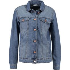 Bomberki damskie: Noisy May NMOLE JACKET Kurtka jeansowa dark blue denim
