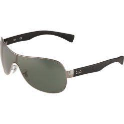 Okulary przeciwsłoneczne męskie: RayBan Okulary przeciwsłoneczne silver/black/green