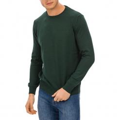 Sweter w kolorze zielonym. Zielone swetry klasyczne męskie GALVANNI, m, z okrągłym kołnierzem. W wyprzedaży za 229,95 zł.