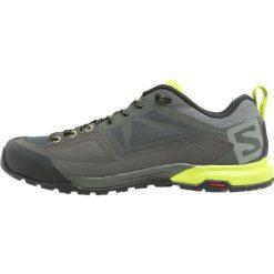 Salomon X ALP Obuwie hikingowe castor gray/beluga/lime punch. Szare buty sportowe męskie marki Salomon, z materiału, outdoorowe. W wyprzedaży za 423,20 zł.