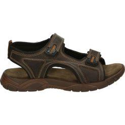 Sandały męskie: Sandały męskie - 6802 PEL TDM