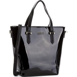 Torebka MONNARI - BAG9920-020 Black. Brązowe torebki klasyczne damskie marki Monnari, w paski, z materiału, średnie. W wyprzedaży za 199,00 zł.