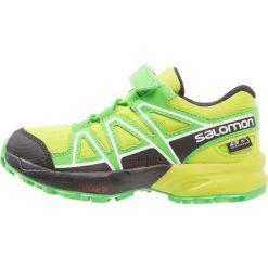 Salomon SPEEDCROSS CSWP Obuwie do biegania Szlak lime green/classic green/black. Zielone buty sportowe chłopięce Salomon, z gumy, salomon speedcross. W wyprzedaży za 209,40 zł.