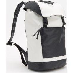 Plecak - Biały. Białe plecaki męskie Reserved. Za 179,99 zł.