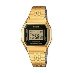 Zegarek Casio Zegarek damski Retro złoty (LA680WEGA-1ER). Żółte zegarki damskie CASIO, złote. Za 270,00 zł.