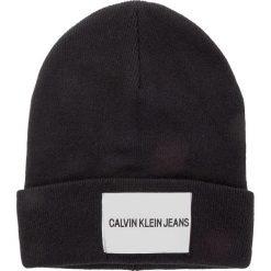 Czapka CALVIN KLEIN JEANS - J Calvin Klein Jeans Beanie M K40K400854 016. Czarne czapki męskie marki Calvin Klein Jeans, z jeansu. Za 179,00 zł.
