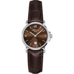 RABAT ZEGAREK CERTINA DS CAIMANO C017.210.16.297.00. Brązowe zegarki damskie CERTINA, ze stali. W wyprzedaży za 928,40 zł.