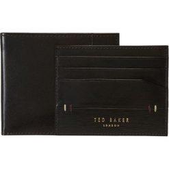 Ted Baker TAGLEE SET Portfel chocolate. Czarne portfele męskie marki Ted Baker, z materiału. Za 379,00 zł.