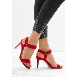 Czerwone Sandały Often Enough. Czerwone sandały damskie vices, na wysokim obcasie. Za 49,99 zł.