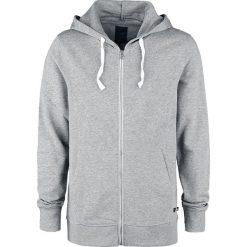 Produkt Basic Sweat Cardigan Bluza z kapturem rozpinana jasnoszary. Brązowe bluzy męskie rozpinane marki SOLOGNAC, m, z elastanu. Za 99,90 zł.