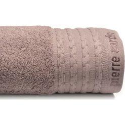 Kąpielówki męskie: Ręcznik w kolorze liliowym