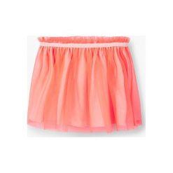 Mango Kids - Spódnica dziecięca Fruits 74-98 cm. Pomarańczowe spódniczki Mango Kids, z materiału, mini. W wyprzedaży za 49,90 zł.