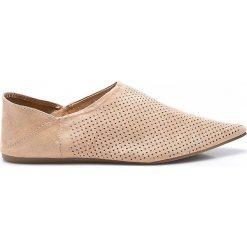 Answear - Baleriny Chc-Shoes. Różowe baleriny damskie marki ANSWEAR, z materiału. W wyprzedaży za 59,90 zł.