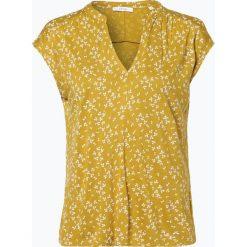 Opus - T-Shirt damski – Sandi flower, żółty. Żółte t-shirty damskie Opus, z nadrukiem. Za 89,95 zł.