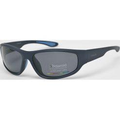 Polaroid - Okulary PLD3017S. Brązowe okulary przeciwsłoneczne męskie aviatory Polaroid, z materiału, owalne. Za 339,90 zł.