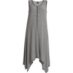 Długie sukienki: Persona by Marina Rinaldi OLIMPICO LONG STRIPED HANKY HEM DRESS Długa sukienka white/dark blue stripes