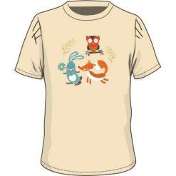 T-shirty chłopięce: BEJO Koszulka dziecięca  SYLVAN KIDSG Almond oli beżowa r. 128