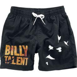 Kąpielówki męskie: Billy Talent Birds Kąpielówki czarny