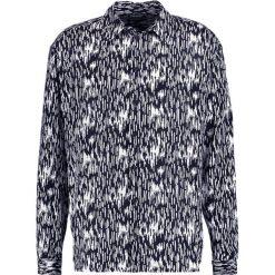 Koszule męskie na spinki: 12 Midnight 90S OVERSIZE  Koszula black & white