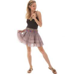 Minispódniczki: Spódnica w kolorze beżowym