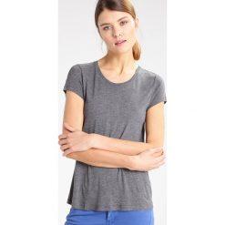 T-shirty damskie: Kaffe ANNA O NECK Tshirt basic dark grey melange