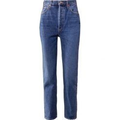 Odzież damska: Agolde RILEY HIGHRISE Jeansy Straight Leg air blue