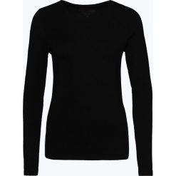Franco Callegari - Damska koszulka z długim rękawem, czarny. Czarne t-shirty damskie Franco Callegari, z bawełny. Za 89,95 zł.