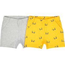 Spodnie niemowlęce: Spodenki 2 pary, 1 gładkie, 1 z nadrukiem, 1 miesiąc – 3 lata