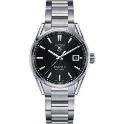 ZEGAREK TAG HEUER CARRERA WAR211A.BA0782. Czarne zegarki męskie marki KALENJI, ze stali. Za 9770,00 zł.