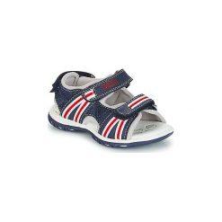 Sandały Dziecko  Chicco  CARROT. Niebieskie sandały chłopięce Chicco. Za 199,00 zł.