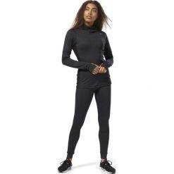 Bluza do biegania damska REEBOK OS THERMO T SCUBA H BLACK / CY2448. Czarne bluzy damskie marki Reebok. Za 279,00 zł.