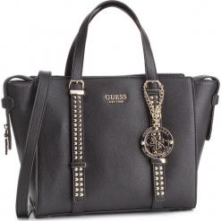 Torebka GUESS - HWVG7 169060 BLA. Czarne torebki klasyczne damskie Guess, z aplikacjami, ze skóry ekologicznej, bez dodatków. Za 699,00 zł.