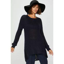 Medicine - Sweter Suffron Spice. Szare swetry klasyczne damskie MEDICINE, l, z dzianiny, z okrągłym kołnierzem. Za 89,90 zł.
