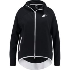 Nike Sportswear Bluza rozpinana black/black/white. Czarne bluzy rozpinane damskie Nike Sportswear, z bawełny. Za 459,00 zł.