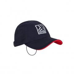Czapka z daszkiem żeglarska cruise. Niebieskie czapki z daszkiem damskie marki TRIBORD, z bawełny. Za 24,99 zł.