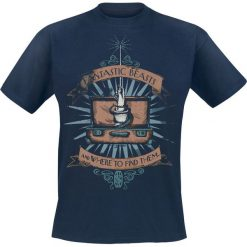 Fantastic Beasts Magic Wand T-Shirt niebieski. Niebieskie t-shirty męskie Fantastic Beasts, xl. Za 74,90 zł.