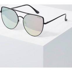 Okulary przeciwsłoneczne damskie aviatory: Quay SANTA FE Okulary przeciwsłoneczne black/red