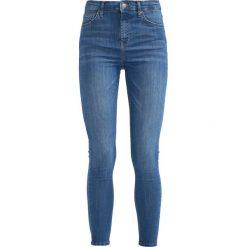 Topshop CAST CLEAN JAMIE Jeans Skinny Fit bluegreen. Niebieskie jeansy damskie marki Topshop. Za 229,00 zł.