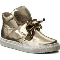 Sneakersy CARINII - B3834 J25-B08-000-B67. Żółte sneakersy damskie Carinii, z materiału. W wyprzedaży za 249,00 zł.