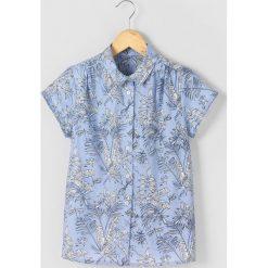 Bluzki dziewczęce: Bluzka koszulowa z tropikalnym nadrukiem 10-16 lat