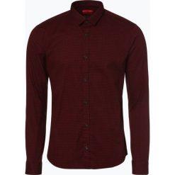 HUGO - Koszula męska – Ero3-W, czerwony. Niebieskie koszule męskie marki HUGO, m, z bawełny. Za 429,95 zł.
