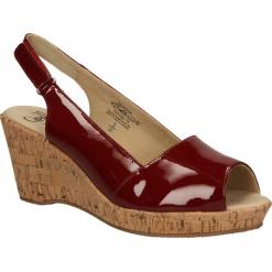 SANDAŁY CAPRICE 9-28353-24. Brązowe sandały damskie Caprice. Za 169,99 zł.