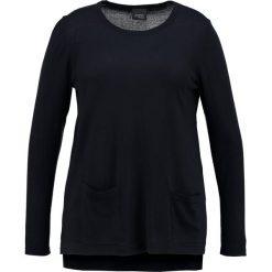 Persona by Marina Rinaldi AZZURRO Sweter navy blue. Czarne swetry klasyczne damskie Persona by Marina Rinaldi, z materiału. W wyprzedaży za 395,40 zł.