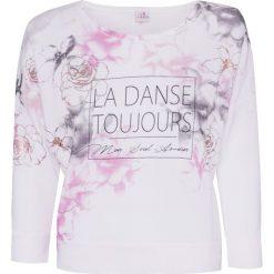Bluzy damskie: Bluza DEHA DANCE Biały Print