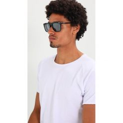 Okulary przeciwsłoneczne męskie aviatory: Emporio Armani Okulary przeciwsłoneczne black/light grey mirror black